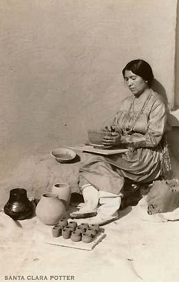 Maria Martinez Pottery